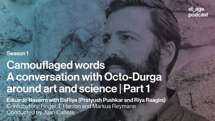 Camouflaged words: A conversation with Octo-Durga around art and science | Part 1