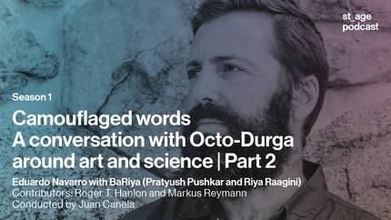 Camouflaged words: A conversation with Octo-Durga around art and science | Part 2