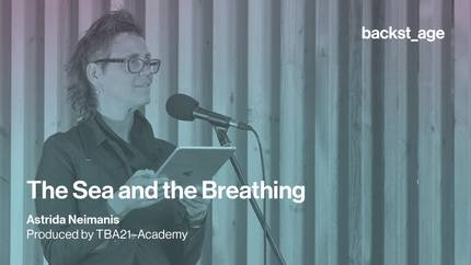 Astrida Neimanis | The Sea and the Breathing